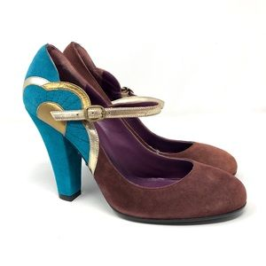 🆕 MARC JACOBS stunning suede shoes, Italy